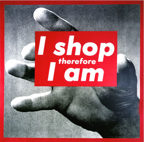 i shop therefore i am