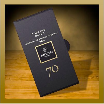 Amedei Toscano Black 70% chocolate