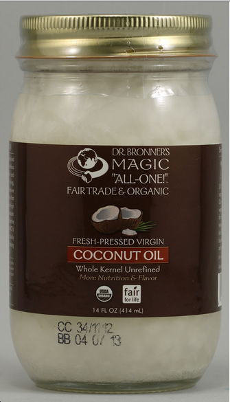 dr bronner's coconut oil