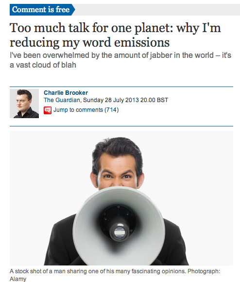 charlie brooker comment guardian