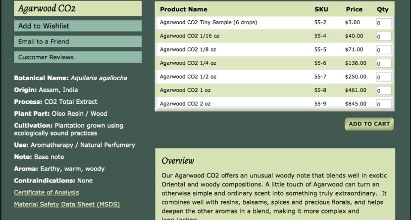 agar wood oil (expensive)