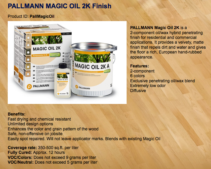 magic oil