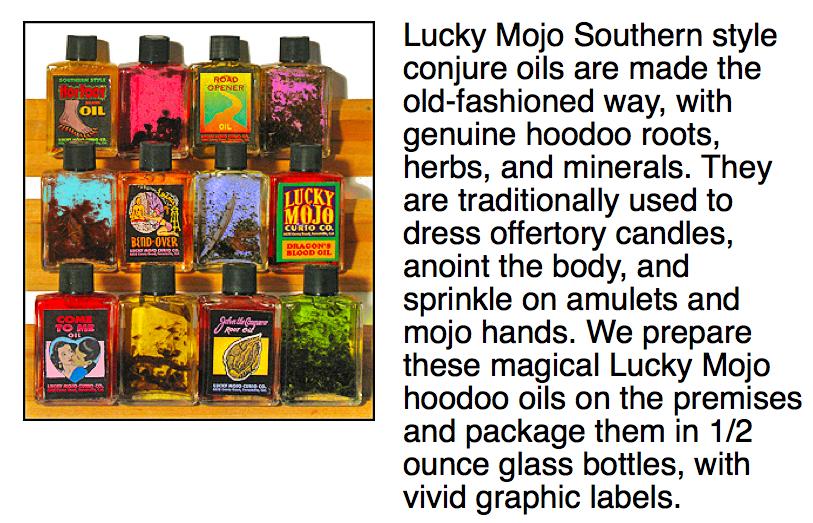 lucky mojo magic oils