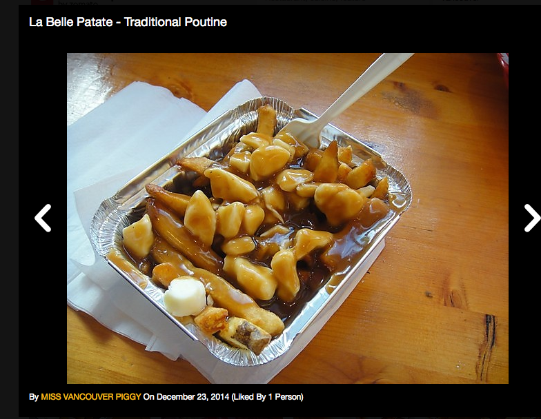 routine? give me poutine